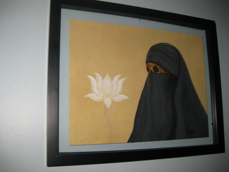 White Flowers for Aisha