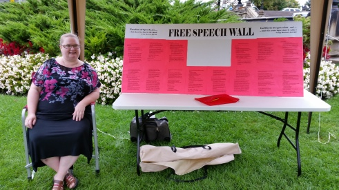 Me and my Free Speech Wall