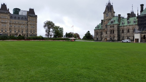 This is how prominently my Free Speech Wall was displayed on the Parliament Hill
