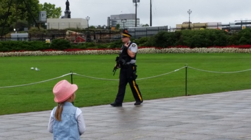Parliament Hill of Canada, 13th of September, 2015